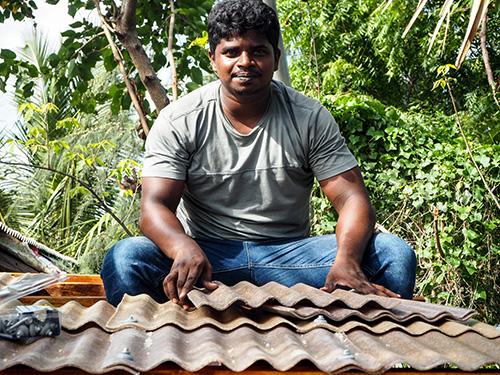 Ashok roof install